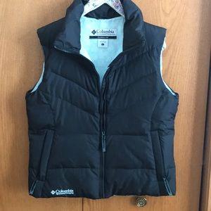 Down-filled vest